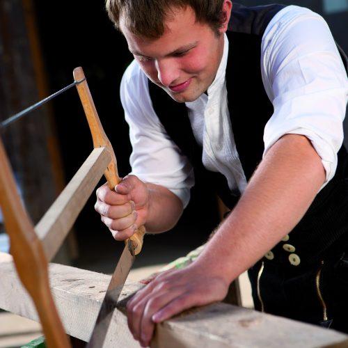 Erfüllende Arbeit finden in handwerklichen Berufen